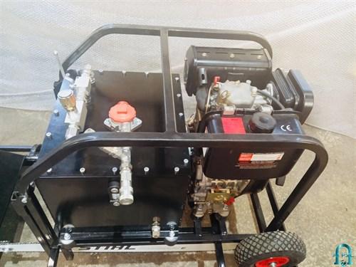 Насосная гидравлическая станция с дизельным приводом, с ручным распределителем и электромагнитным распределителем НДР-10,0ПКК100-1 - фото 282515