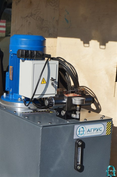 Насосная гидравлическая станция с электроприводом, с электромагнитным распределителем НЭЭ-0,8Г10Ф1 - фото 283757