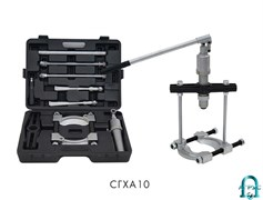 Съемник-хомуты со встроенным приводом - комплекты - серия Proff СГХА10