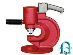 Пресс-перфоратор для пробивания отверстий в токоведущих шинах ПП2420