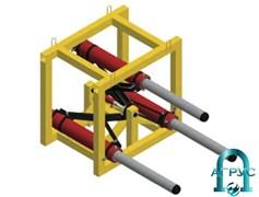 Установка гидравлическая для бестраншейной прокладки труб (УГ600Т) УГ600Т