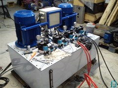 Высокопроизводительная насосная станция с мульти-гидравлическим потоком НЭЭ-10АК3К160Т1