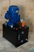Насосная гидравлическая станция с электроприводом, cо взрывозащищенным электродвигателем и ручным распределителем ВНЭР-1,6И40Т1