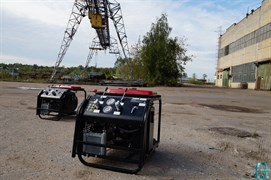 Насосная станция для дорожно-строительного инструмента НЭР20А1