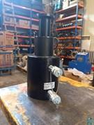 Домкрат гидравлический телескопический алюминиевый ДТА110/50Г185