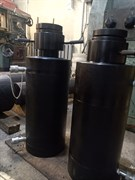 Домкрат гидравлический ДГ100Г360В330 с гидравлическим возвратом штока