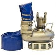 Погружная шламовая гидравлическая помпа HYCON HWP4 для откачки грязной воды